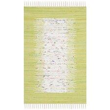 Montauk Ivory / Lime Contemporary Rug