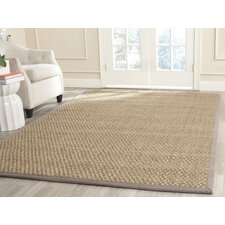 Natural Fiber Natural/Grey Indoor Area Rug