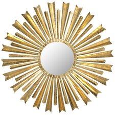 Golden Arrows Sunburst Mirror