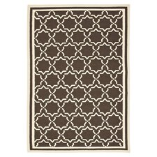 Dhurrie Chocolate Area Rug