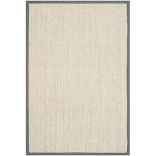 Natural Fiber Marble/Gray Area Rug