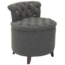 Brayden Tufted Vanity Accent Stool
