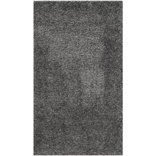 Shag Dark Grey Area Rug