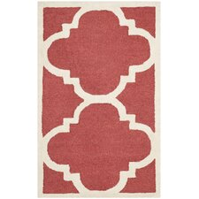 Cambridge Rust / Ivory Area Rug