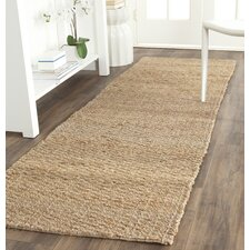 Natural Fiber Brown Indoor Area Rug