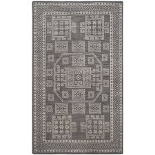 Kenya Grey Geometric Rug