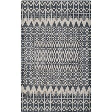 Kenya Charcoal Contemporary Area Rug