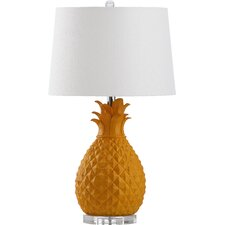 """Kelly 26.75"""" H Table Lamp with Drum Shade"""