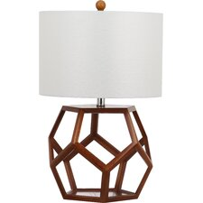 """Delaney 23.75"""" H Table Lamp with Drum Shade"""