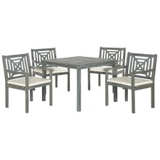 Del Mar 5 Piece Dining Set with Cushions