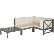 Lynwood 4 Piece Sectional Seating Group with Cushions