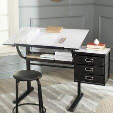 Harvard 3 Drawer Writing Desk