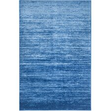 Adirondack Light Blue/Dark Blue Area Rug