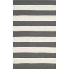 Montauk Grey / Ivory Area Rug