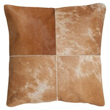 Selmacowhide Suede Throw Pillow (Set of 2)