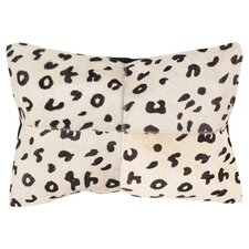Beau Cow Hide Suede Lumbar Pillow (Set of 2)