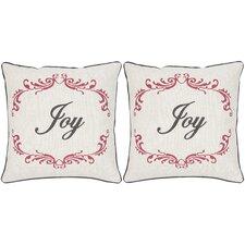 Joy Throw Pillow (Set of 2)