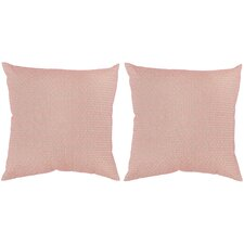 Box Stitch Throw Pillow (Set of 2)