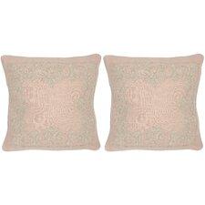 Florentine Linen Throw Pillow (Set of 2)
