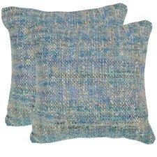 Carrie Silk Throw Pillow (Set of 2)