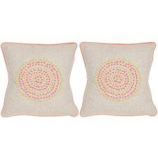 Love Knots Linen Throw Pillow (Set of 2)