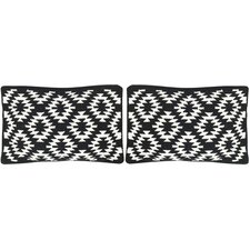 Navajo Cotton Lumbar Pillow (Set of 2)