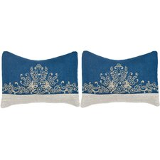 Elena Linen  Lumbar Pillow (Set of 2)