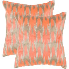 Boho Chic Throw Pillow (Set of 2)