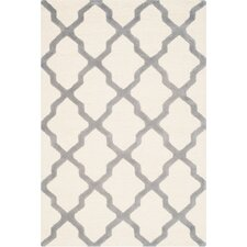 Cambridge Ivory & Silver Area Rug