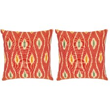 Taylor Cotton Throw Pillow (Set of 2)