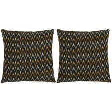 Mirage Decorative Cotton Throw Pillow (Set of 2)