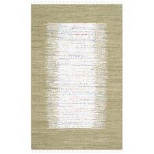 Montauk Ivory / Olive Contemporary Rug