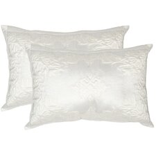 Quilted Medallion Decorative Pillow (Set of 2)