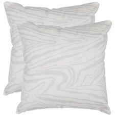 Marbella Decorative Satin Throw Pillow (Set of 2)