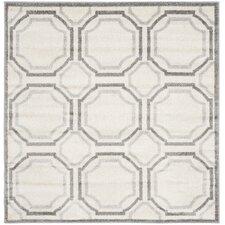 Amherst Ivory & Light Grey Indoor/Outdoor Area Rug