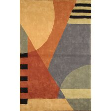 Rodeo Drive Gold Area Rug