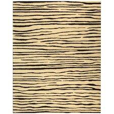 Soho Ivory/Black Area Rug