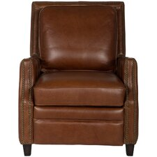 Couture Buddy Italian Leather Recliner