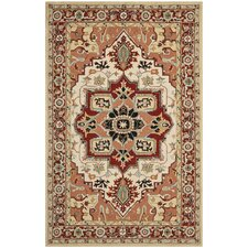 Chelsea Red / Ivory Outdoor Area Rug