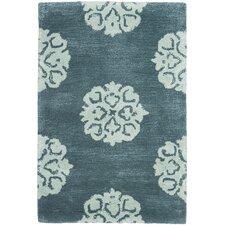 Soho Slate Blue/Light Blue Area Rug