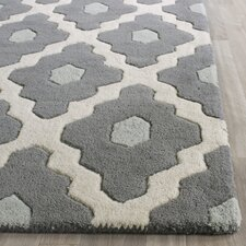 Chatham Dark Gray/Ivory Moroccan Area Rug