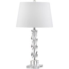 "Ice Palace 27.5"" H Table Lamp with Empire Shade"