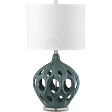 "Regina 29"" H Table Lamp with Drum Shade"