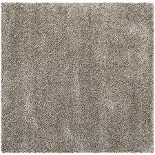 Milan Shag Grey Rug