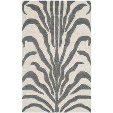 Cambridge Ivory & Dark Gray Area Rug