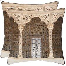 Novara Decorative Cotton Throw Pillow (Set of 2)