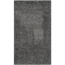 Shag Dark Grey Area Rug
