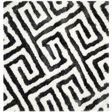 Barcelona Graphite & White Area Rug