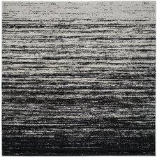 Adirondack Silver/Black Area Rug
