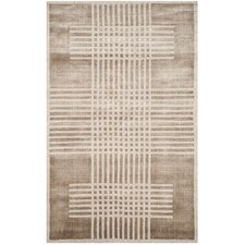 Mirage Hand-Woven Brown Area Rug